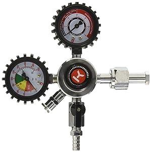 Kegco HL-62 Premium Commercial Grade Double Gauge CO2 Draft Beer Regulator