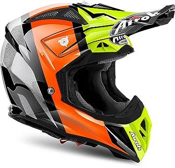 Airoh Helmet Aviator 2.2Revolve, Naranja, tamaño M