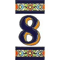 Números casa. Letreros con numeros y letras en