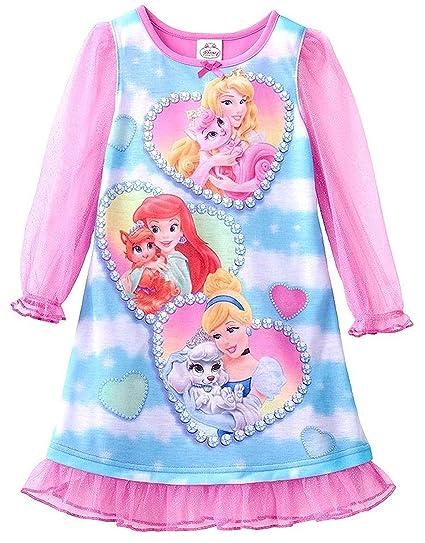 Amazon.com  Disney Princess Palace Pets Heart Nightgown 2a610c199