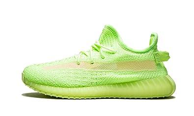 best sneakers 379f5 653ad Amazon.com | adidas Yeezy Boost 350 V2 GID Kids (Glow/Glow ...