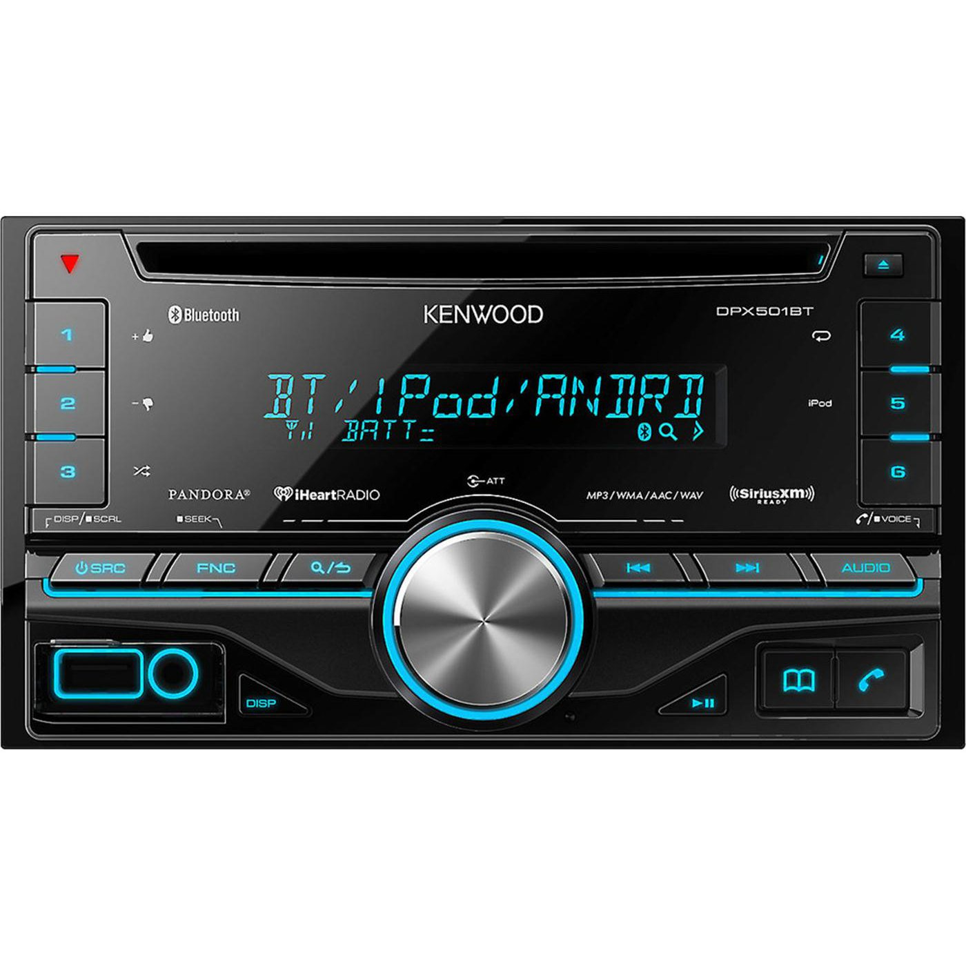 best bluetooth car stereo Kenwood dpx501bt