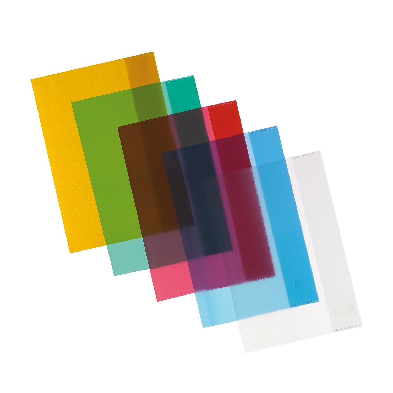 10Buste herlitz-/Quaderno guscio DIN A5/5colori assortiti