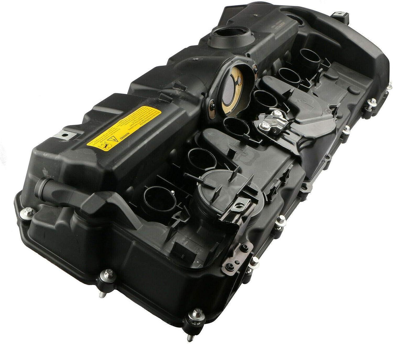 X5 3 con guarnizioni e Viti 5 Set di guarnizioni per valvola Z4 Telo di Copertura per valvola Motore 7 6 X1 N51 N52 per Serie 1 X3 MOSTPLUS 11127552281