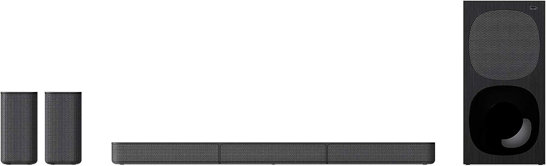 Sony HT-S20R - Barra de Sonido (5.1 Canales, Bluetooth, 400 W, USB, HDMI ARC, Conexiones ópticas y analógicas, Sonido de Cine) Negro