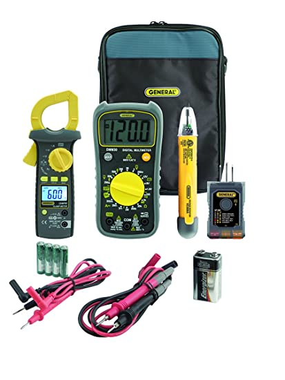 general tools kt20 electrical testing kit includes multimeter rh amazon com