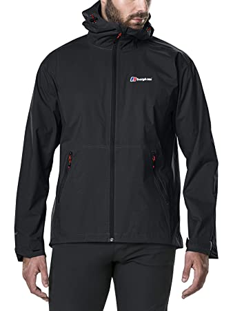 Stormcloud Waterproof Jacket Men black XXL Hardshell Regenjacke Berghaus Bekleidung