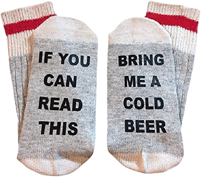 gift for girlfriend Christmas gift gift for mom Wine Socks bring me wine if you can read this pink socks,printed socks gift for her