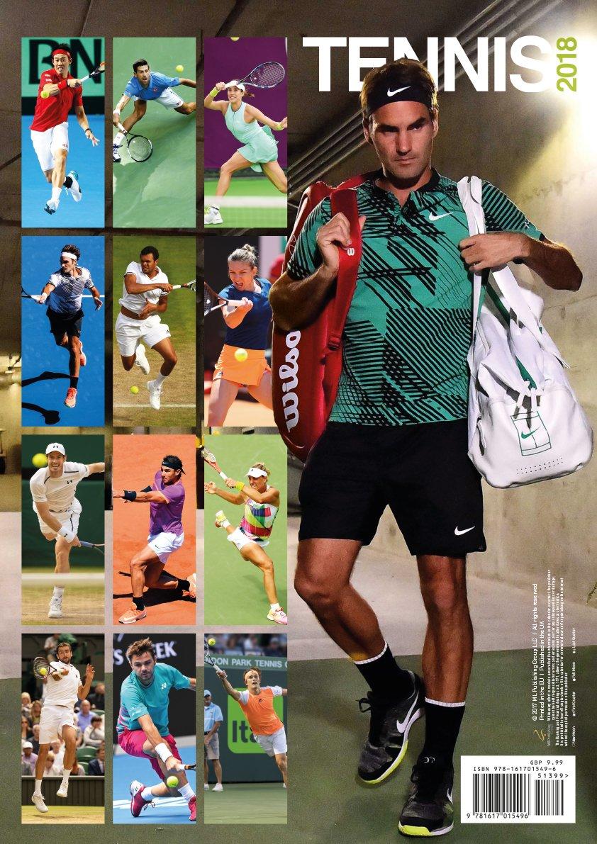 Tennis 2018 Calendar: Amazon.es: Novak Djokovic, Rafael Nadal ...
