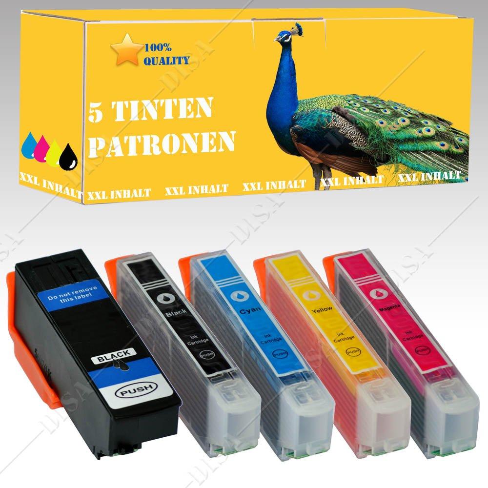 5 x Cartuchos de Tinta 33 x l para impresora EPSON Expression ...