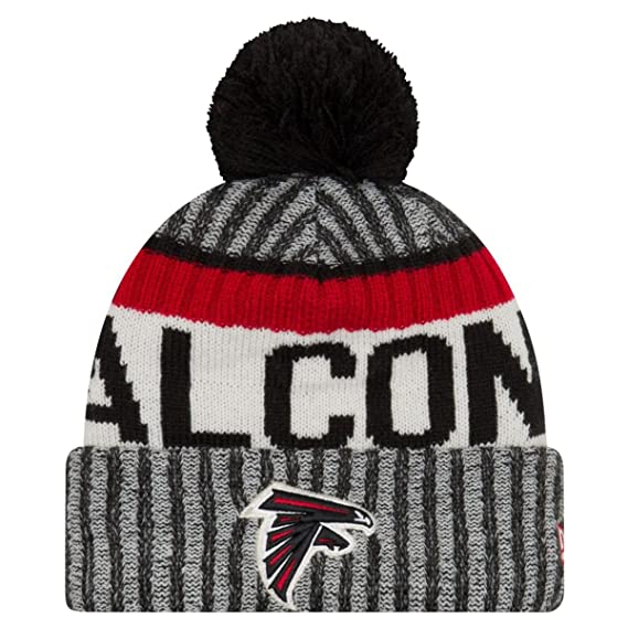 New Era NFL17 Sport Knit Bommelmütze Atlanta Falcons Schwarz