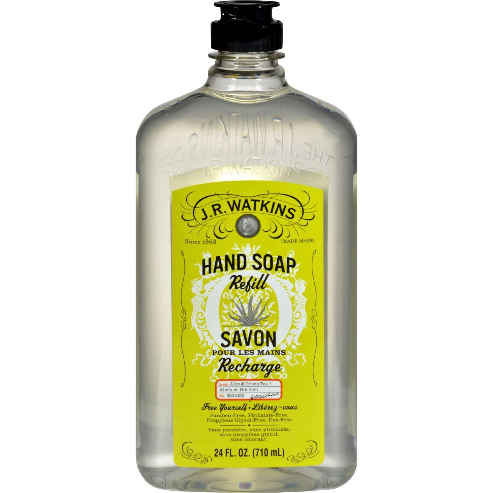 Amazon Com J R Watkins Natural Liquid Hand Soap Lemon