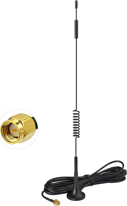 Bingfu 4g Lte Antenne 7dbi Magnetfuß Mimo Sma Stecker Computer Zubehör
