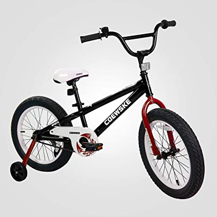 761ce58ba32 BMX Sporty Bikes for Big Kids Wild Style 16-18 Inch Thick Tires Like Truck
