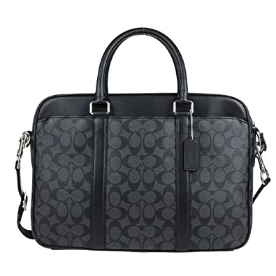Coach Mens Shoulder Inclined Shoulder Handbag F54803 (Dark brown MABR)   Handbags  Amazon.com cc7f9c2804d0a