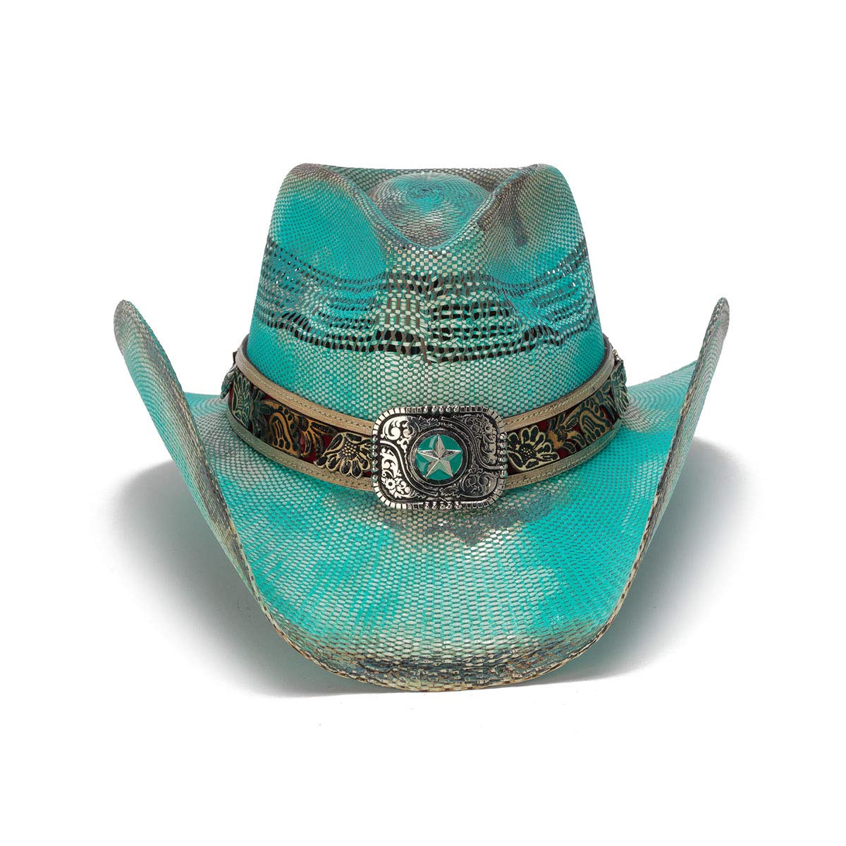 Stampede Hats Womens Blue Inspiration Turquoise Lone Star Western Hat