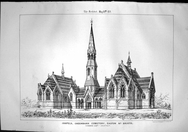 Chapels Greenbank Cemetery Easton Bristol H Masters