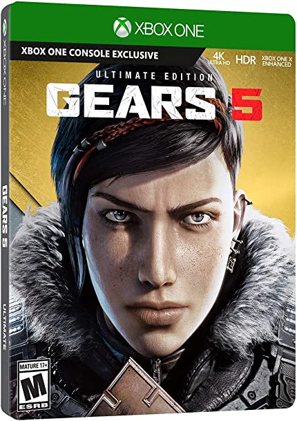 Gears 5 - Xbox One Ultimate Edition: Microsoft     - Amazon com