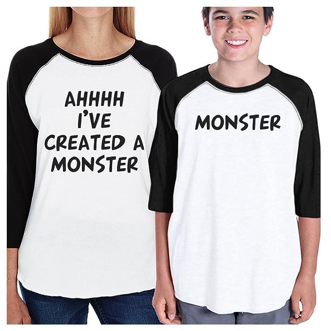 Amazon.com: 365 impresión creado un monstruo mamá y Kid a ...