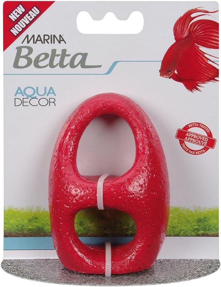 Marina Betta Ornament, Red Stone Archway, 12234