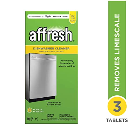 Amazon.com: Affresh lavaplatos Cleaner, W10549850: Home ...