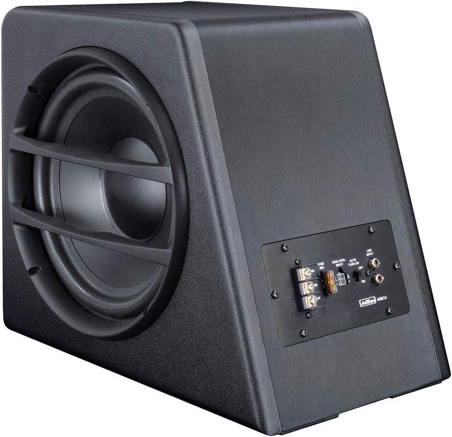 Axton Axb25a Axton Compact Subwoofer 25cm Mit Amplifier Elektronik