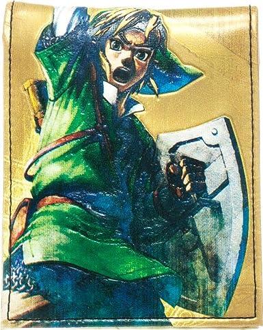 Portefeuille Legend Of Zelda Dessin Link Jaune Amazon Fr Jeux Video