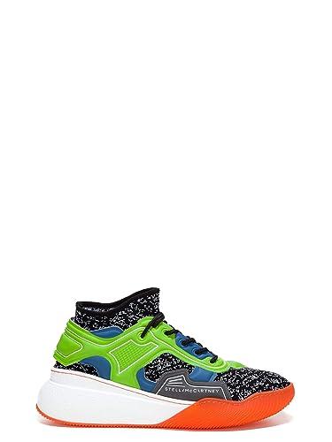 texture nette choisissez le dégagement courir chaussures Stella McCartney Homme 507831W08P11099 Multicolore Tissu ...