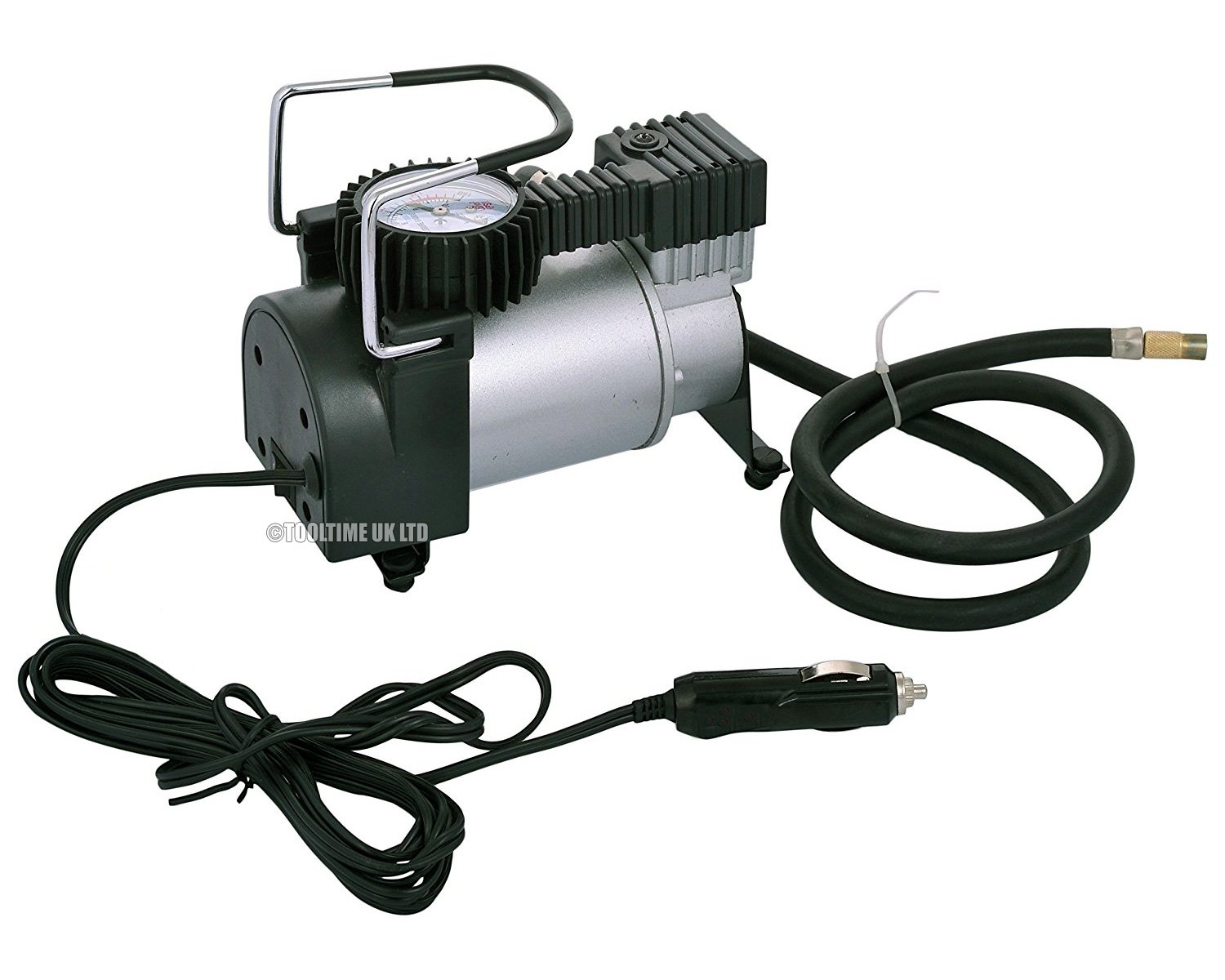 Voche Heavy Duty 12v Portable Air Compressor Car Tyre Inflator Help Wiring An Electrical Diy Chatroom Home Motorbike