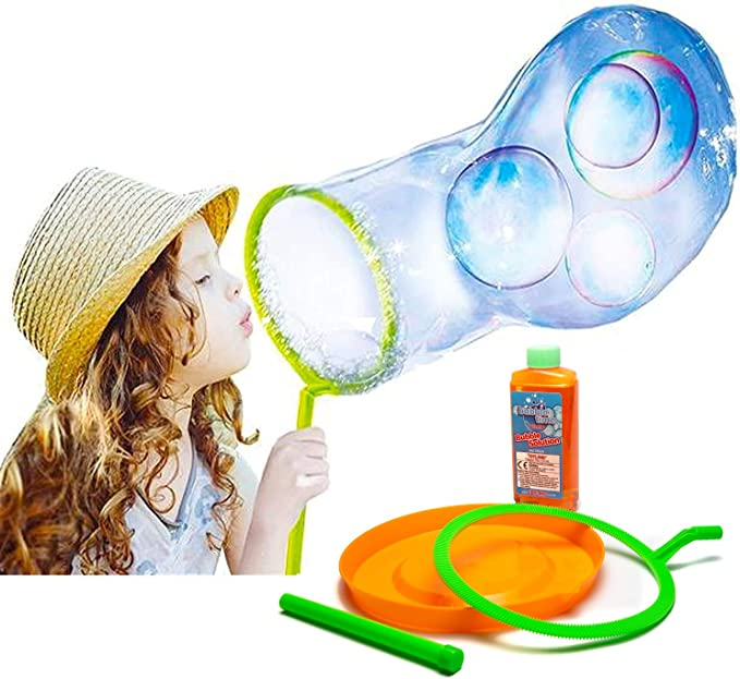 Toyland® Giant Bubble Making Kit - Create Huge Bubbles - Outdoor Toys - Garden Games,Toyland®