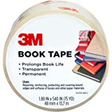 3M 841-3M Scotch Book Tape, 2.83-Inch by 15-Yard