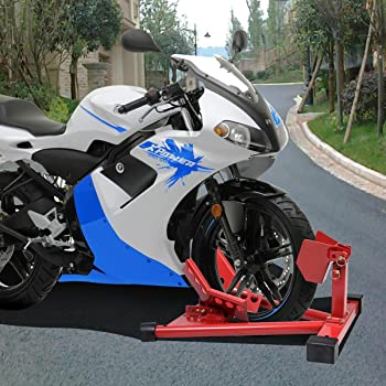 Motorcycle Front Wheel Chock Lift Stand