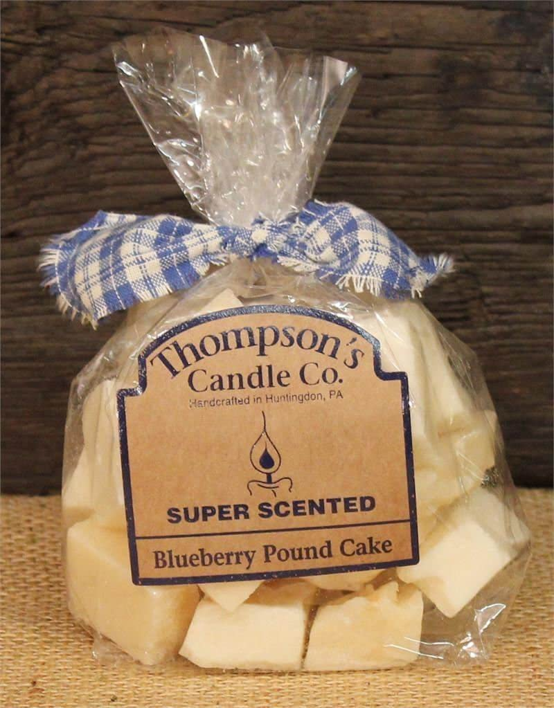 Thompson's Candle bpcr Blueberry Pound Cake Bag of Crumbles, 6 Ounce