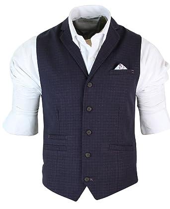 Gilet Homme Veston Coupe cintrée Tweed Chevrons Bleu Marine Prune Style  Vintage  Amazon.fr  Vêtements et accessoires 3911feada40