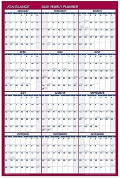 "AT-A-GLANCE 2020 Wall Calendar XLarge New Edition 22/"" x 29/"" XLarge"
