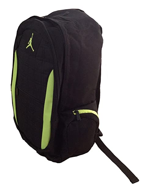 0147460e650 Nike Air Jordan Jumpman 23 Laptop Black Volt (Neon Green) Backpack    Matching Insulated Lunch Tote + FREE Cell Phone Anti-Dust Plug  Amazon.ca   Electronics