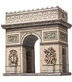 Keranova 347 Puzzle 3D Arc de triomphe/Paris/France Échelle1:300 16x 9x 17.5cm 44pièces