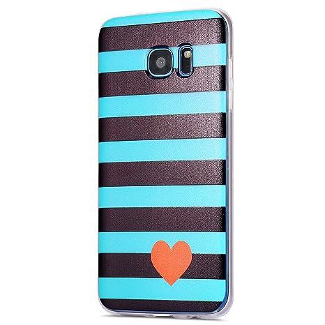 Ikasus - Carcasa de silicona para Samsung Galaxy S7 Edge ...