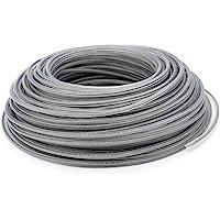 Staaldraad maaidraad trimmerdraad, 3 mm x 41 m staal nylondraad grastrimmer lijn trimmer grastrimmer grastrimmer lijn…