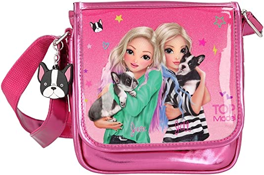 Top Model Bolso Solapa Rosa Friends Perro: Amazon.es: Juguetes y juegos