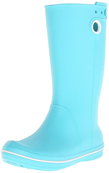 8a32eb038a74 Crocs Crocband Jaunt Women Rain Boots  Amazon.co.uk  Shoes   Bags