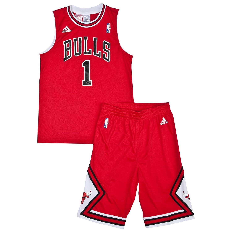 d54ad39d596 ... inexpensive chicago bulls road replica jersey shorts derrick rose  junior amazon sports outdoors f3c29 d6804