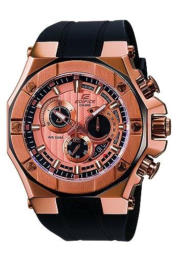 6cb2d7c856a2 CASIO Edifice Gold Label EFX-510P-1AVDR - Reloj de Cuarzo con Correa de  Resina para Hombre (con cronómetro)