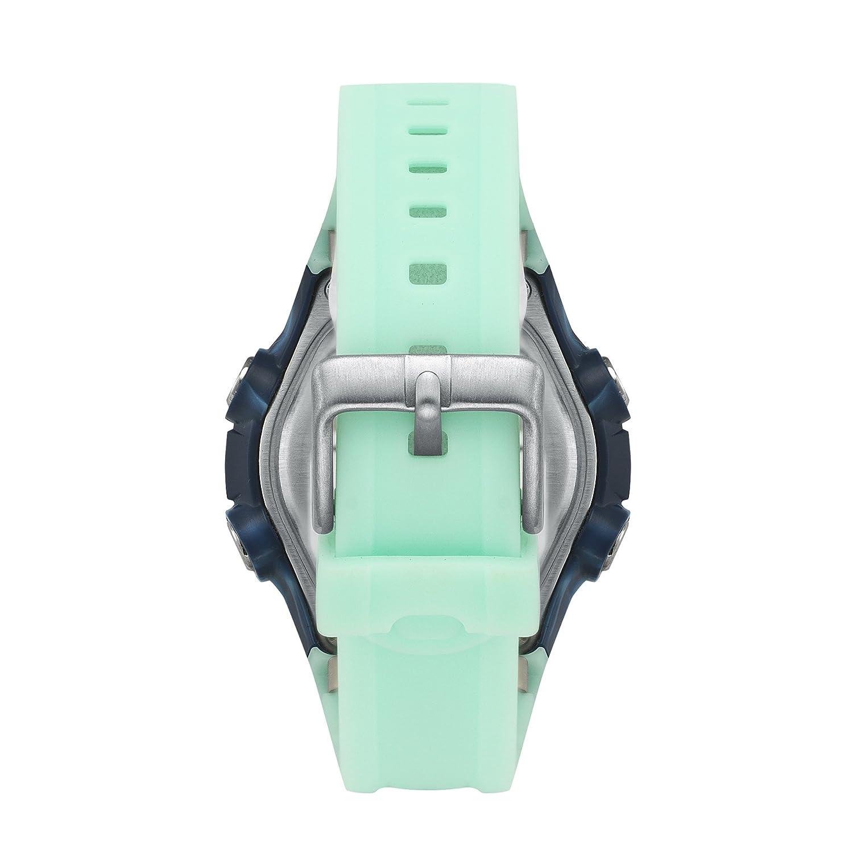 El Modelo Tour para Mujer Roxy Digital Reloj Infantil con Mecanismo de Pantalla Digital Coronado Controls y Azul Correa de Silicona RX/1014lbbl: Amazon.es: ...