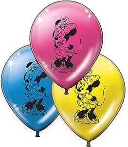 Verbetena, 014001139, Pack 8 Globos Minnie Mouse Pink, Disney ...