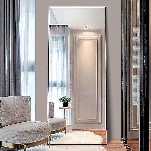 Laiya 65 24 Aluminum Full Length Mirror Floor Mirror