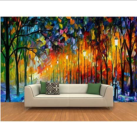Amazon.com: hwhz The Custom 3D Murals,3 D Forest Paisaje ...