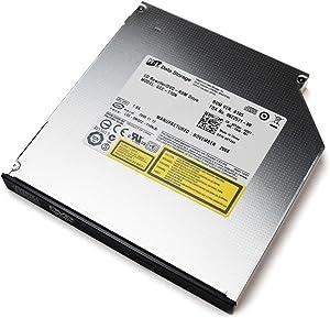 New RY466 Genuine OEM Dell PowerEdge 2950 2970 PowerVault DP500 NF500 HITLGDS Slimline Combo IDE Drive 12.7mm Black Bezel CDRW / DVD-ROM GCC-T10N CD-Rewriter GK457 JU618 K8957 PD438 RC221 X5385