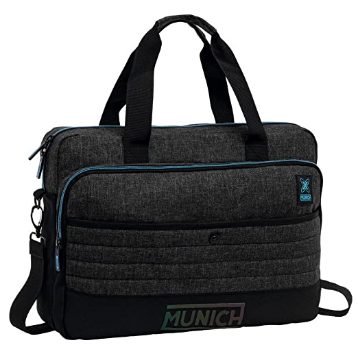 Munich Black To Color Mochila Tipo Casual, 10.24 litros, Color Gris: Amazon.es: Equipaje