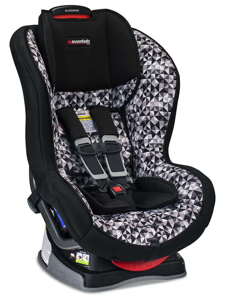 Britax Allegiance Convertible Car Seat – 5 to 65 Pounds – Rear Forward Facing – 1 Layer Impact Protection, Prism